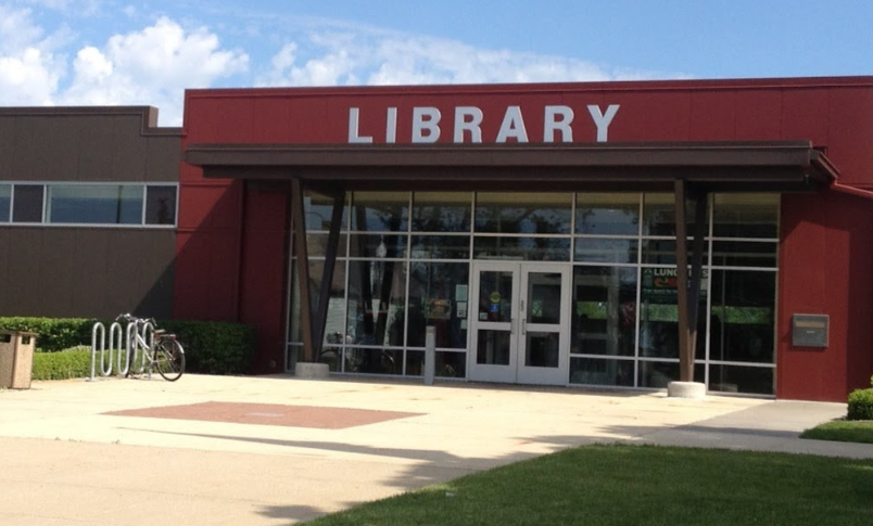 Image result for lansing il library'